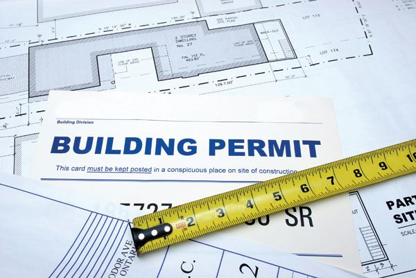 building permit Opens in new window